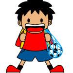 サッカー少年の成長