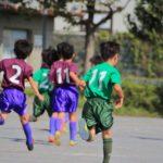 ジュニアサッカー観戦
